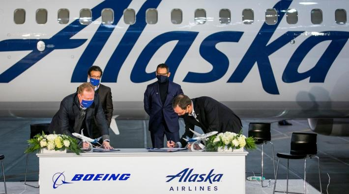 Boeing 737 MAX order Alaska Airlines