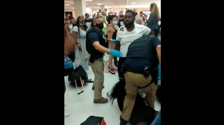 Vechtpartij Puerto Rico
