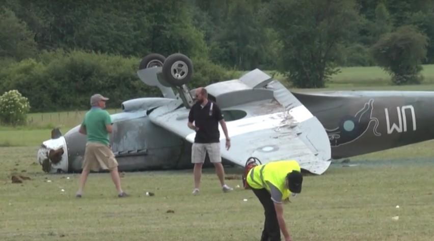 Spitfire crasht tijdens Franse vliegshow | Luchtvaartnieuws