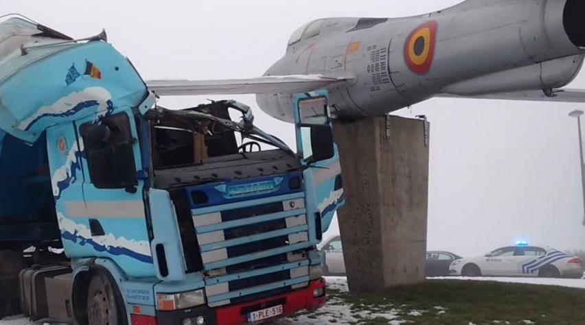 F-84 Thunderstreak ongeluk
