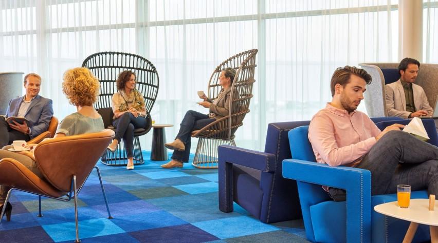 KLM non-schengen Crown Lounge