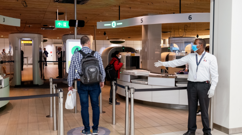 Schiphol Security Mondkapje