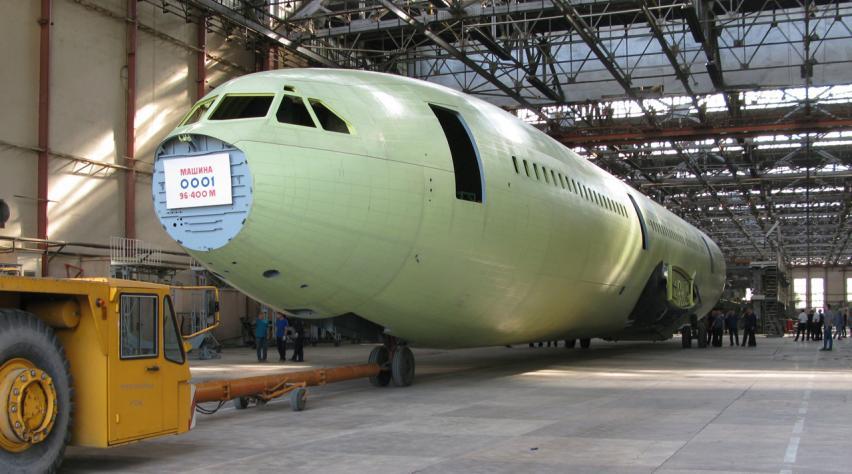 Ilyushin Il-96-400M
