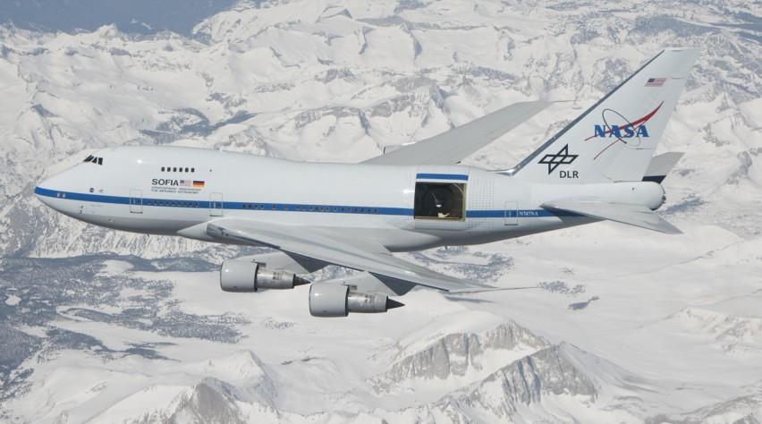NASA 747SP SOFIA