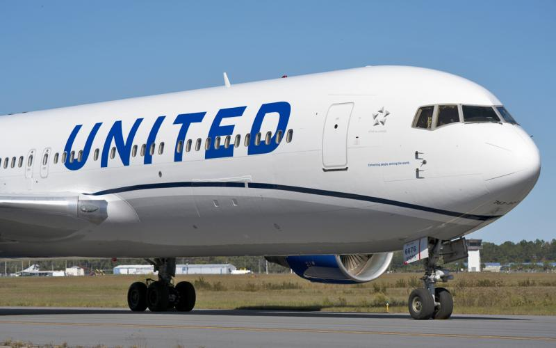 United Airlines Boeing 767
