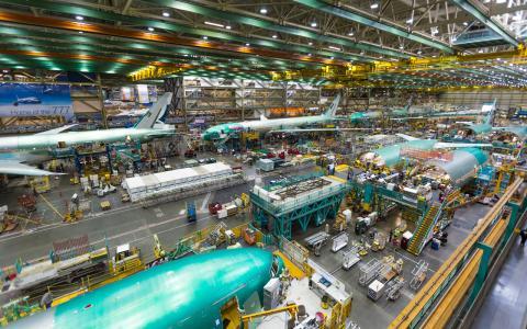Boeing fabriek