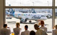 Alaska Airlines Pride A320