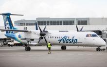 Alaska Airlines Q400