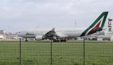 Alitalia A330 Rotterdam The Hague Airport