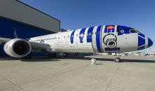 ANA Star Wars Boeing 787 Dreamliner