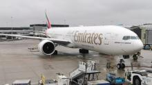 Emirates 777 Schiphol