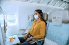 Emirates Economy Eenzaam Meisje