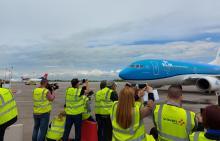 KLM Belgrado