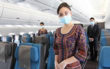 Singapore Airlines masker
