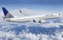 United 737 MAX 9