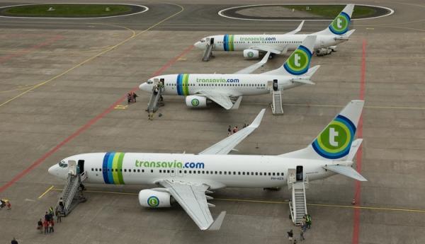 Transavia Boeing 737's