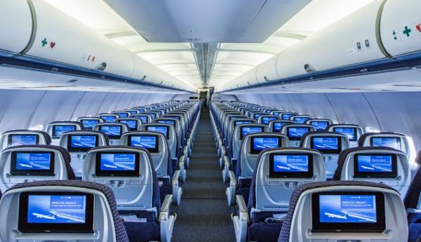 Goedkopere brandstof helpt united airlines luchtvaartnieuws for Interieur boeing 757
