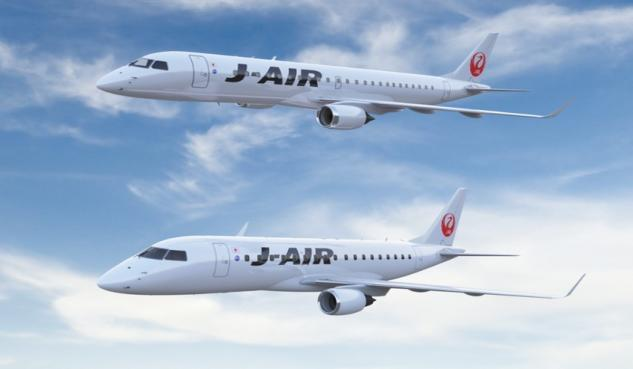 embraer, e-jet, japan airlines, jal