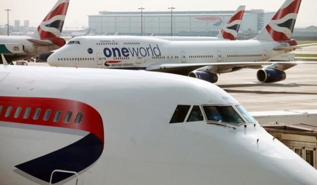 british airways, boeing 747-400