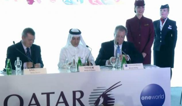 Qatar Airways IAG Oneworld Willie Walsh Akbar Al Baker