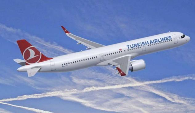 turkish airlines, airbus a321neo
