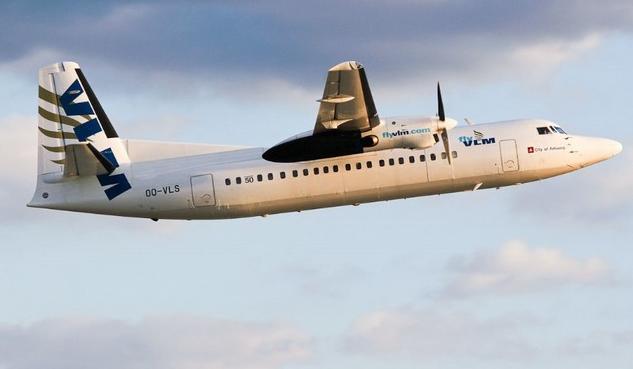 vlm airlines, fokker 50