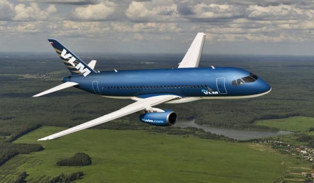 VLM Airlines Sukhoi Superjet 100 LR