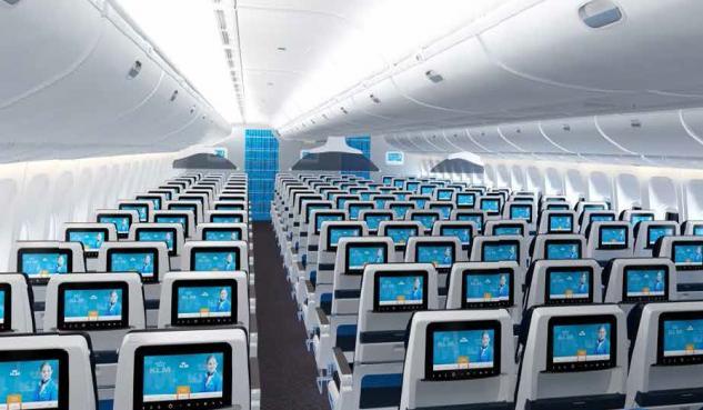 KLM Economy Class