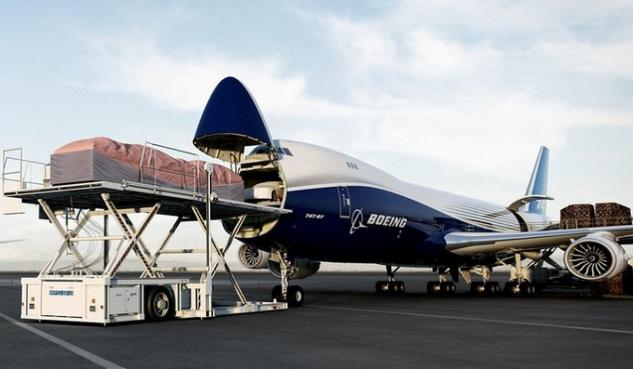 vrachtvliegtuig, boeing, 747-8f