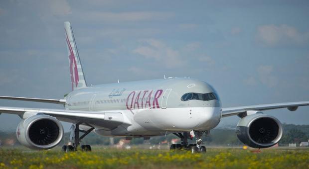 Qatar airways ontvangt de allereerste a350xwb for Interieur qatar airways