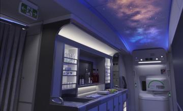 Boeing 777X interieur