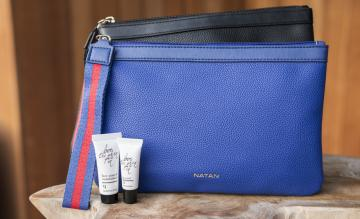 Brussels Airlines amenity kit