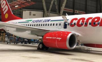 Corendon 737 Divi Divi Air