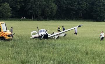Crash sportvliegtuigje Breda