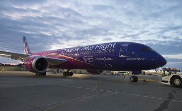Boeing 787 Dreams Take Flight