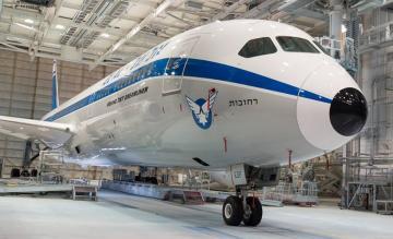 El Al retro 787F