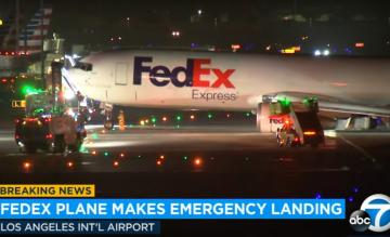 FedEx 767 incident Los Angeles