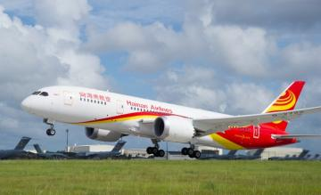 hainain airlines, boeing 787-800, dreamliner
