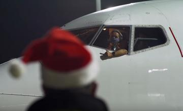 Transavia personeel kerstvideo