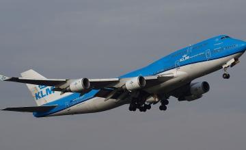 KLM 747 Combi PH-BFT