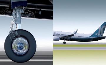 Landingsgestel Boeing 737 MAX 10