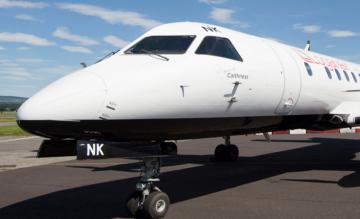 Loganair Saab