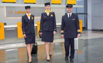 Lufthansa crew