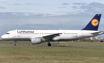 Lufthansa A320 D-AIPP