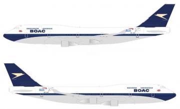 Boeing 747 BA retro