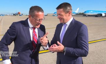 Richard Quest KLM