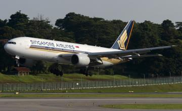 Singapore Airlines Boeing 777-200ER