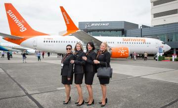 Sunwing Airlines Boeing 737 MAX 8