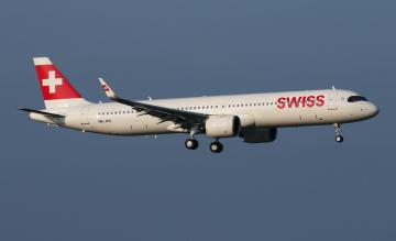 SWISS A321neo