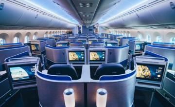 United Boeing 787-10 Polaris Business Class